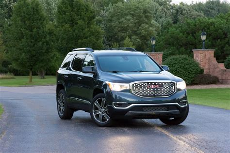 2019 Gmc Acadia by 2019 Gmc Acadia Awd Denali Review Explore With Four