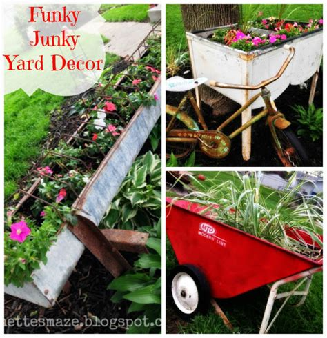 Funky Garden Decor 10 Outdoor Planters And More Fromdreamtoreality 121