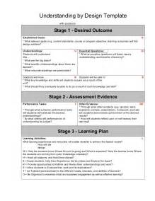 Ubd Lesson Template ubd lesson plan template search results calendar 2015