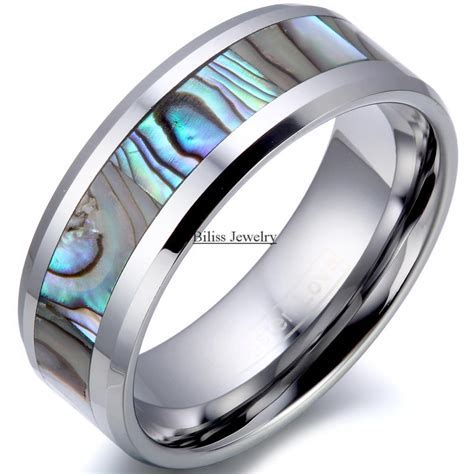 8mm Comfort Fit Top Quality Tungsten Carbide Ring with