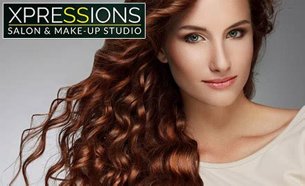 haircut coupons delhi xpressions salon deals discount coupons xpressions salon