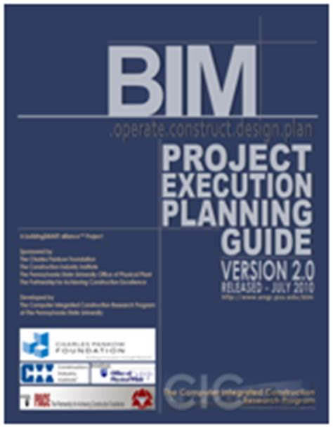 project execution methodology template revit structure learning curve new penn state bim