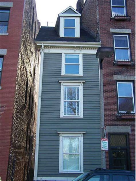 skinny house boston weird houses matt heafey realtor