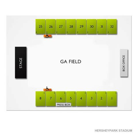 hershey stadium seating chart hersheypark stadium tickets hersheypark stadium