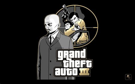 Grand Theft Auto 3 Logo by Gta 3 Wallpapers Wallpaper Cave