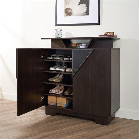 Twin Cubbie Bench Furniture Of America Vitros Bold Espresso Storage Cabinet