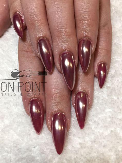 pink chrome the 25 best acrylic nails chrome ideas on pinterest
