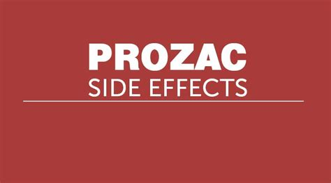side effects of prozac in dogs prozac side effects colchicine dosing renal impairment