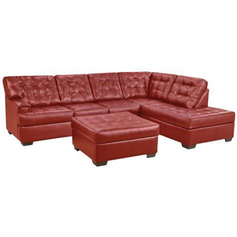 simmons bonded leather sofa simmons grandslamsec grand slam series sectional simmons