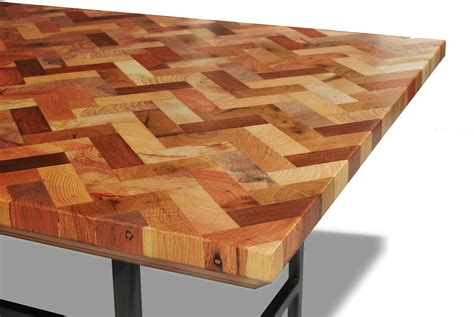 recycled wood spectacular chevron reclaimed wood coffee table top with