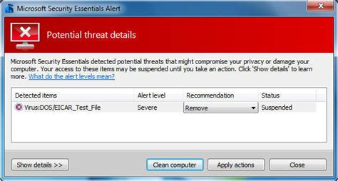 eicar test create your own eicar test virus automatically