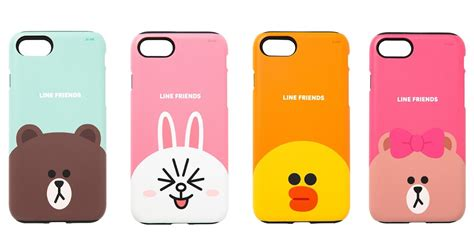 Caseology Iphone 7 47 Anti Shock Hardcase H Diskon line friends character guard up matte cover for apple iphone 7 7 plus