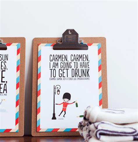 mensajes divertidos para decorar tu casa