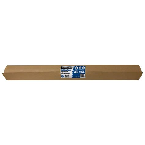 home depot builders paper brown builders paper 36 inch x 167 359242cda in canada canadadiscounthardware