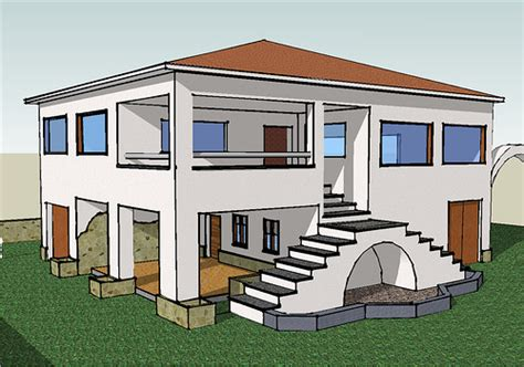 Kitchen 3d Design Software Free a house made with sketchup una casa cualquiera hecha con