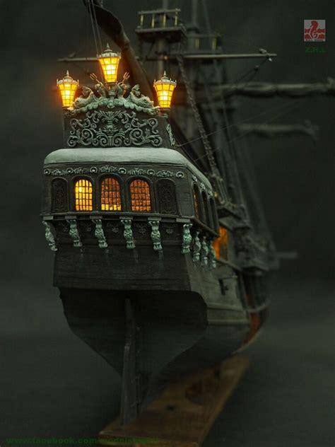 zhl  scenario version   black pearl ship model