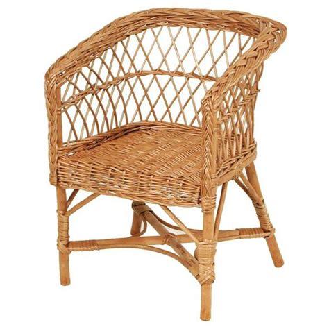 fauteuil enfant osier assise carr 233 e la vannerie d