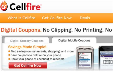 Cellfire Brings Coupons To Mobiles by Cellfire And Jcpenny Team Up For Digital Mobile Coupons