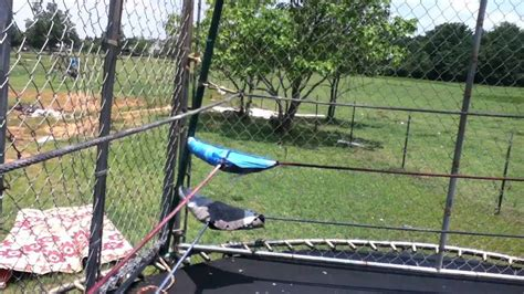 backyard wrestling ring how to make a troline wrestling ring and steel cage