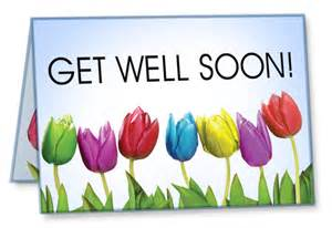 get well cards package of 10