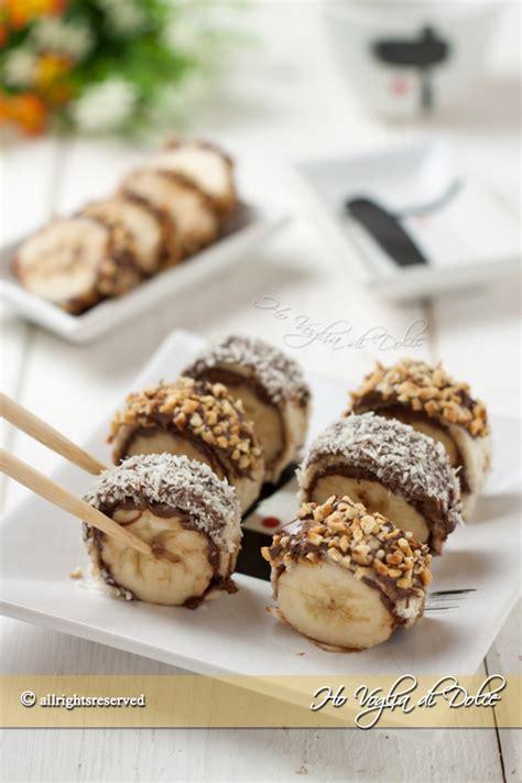 cucina giapponese ricette facili banana e nutella sushi facili e veloci ho voglia di dolce