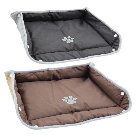 my pillow pet bed me my pet waterproof folding dog cat bed mat pillow