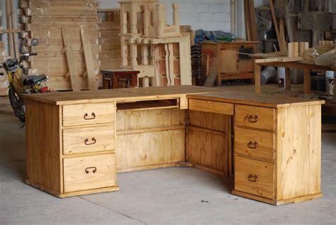 Rustic L Shaped Desk For The Office Desks