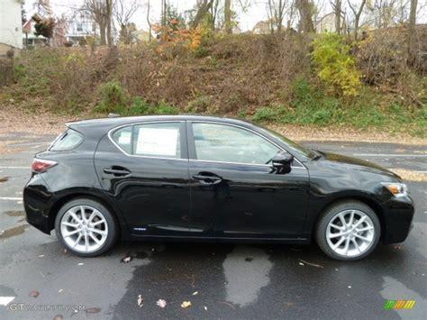black lexus 2012 obsidian black 2012 lexus ct 200h hybrid premium exterior