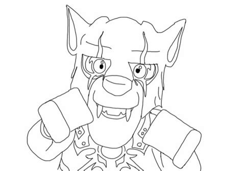 lego chima coloring pages collection pro wolves