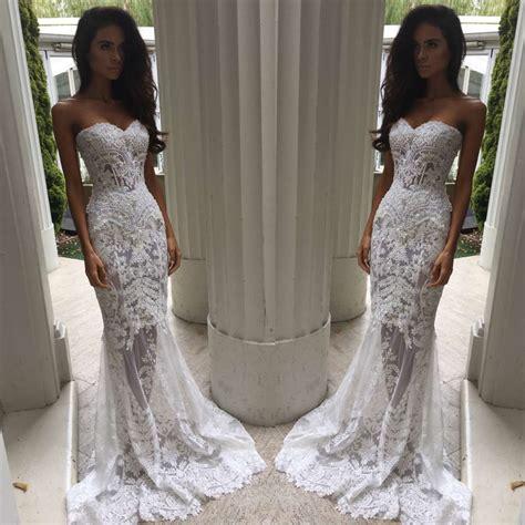 Court Wedding Dress by Charming Sheath Column Sweetheart Court Lace Wedding
