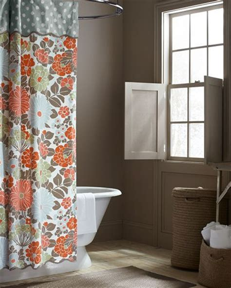 coral bathrooms 17 best ideas about coral shower curtains on pinterest
