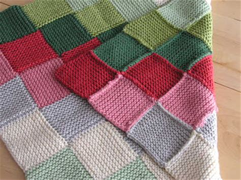 Garter Stitch Baby Blanket Pattern by Knitting And Again