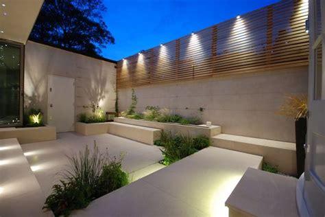 patios de casas modernas bardas modernas para patios 4