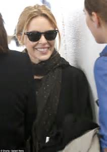 Minogue Says That She Likes Big Black Snarky Gossip 2 by Minogue Radiates In Minimal Makeup As She Touches