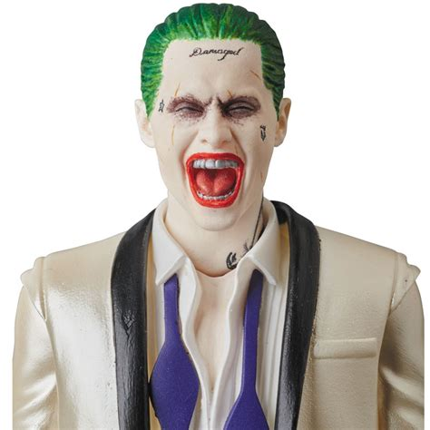 joker tattoo forehead マフェックス no 039 suicide squad mafex the joker suits ver