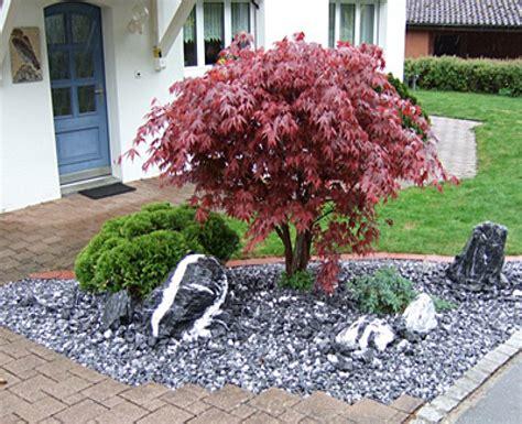 steingarten mit granit new garten ideen