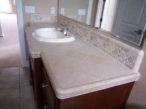 bathroom modern tile ideas backsplash:  backsplash ideas with elegant bathroom vanity equipped with tile