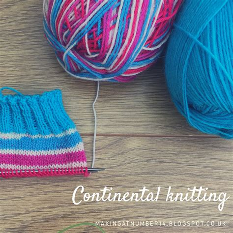 continental knitting yarn at number 14 continental knitting part one