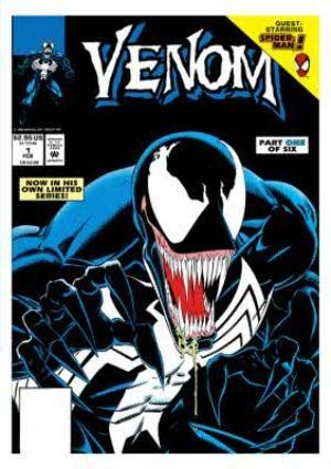 Marvel Comics Venom Birthday Card   Moonpig