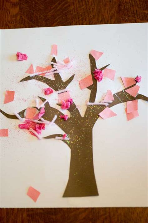 arts and crafts tree tree craft for toddlers on as we grow