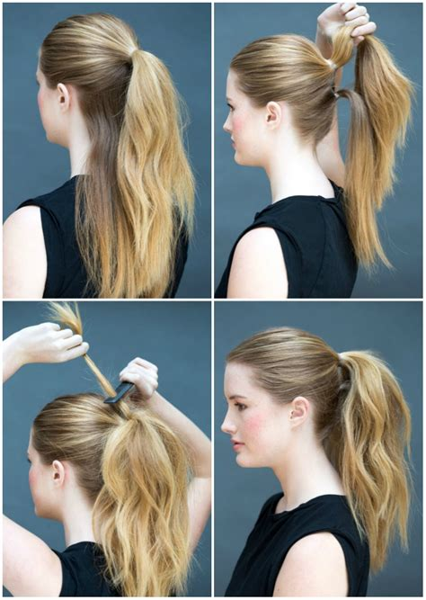 easy hairstyles you can do with one hand eight ridiculously simple hairstyles you can do in ten seconds
