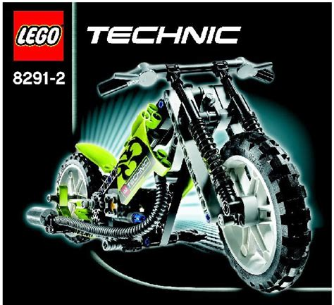 technic motocross bike dirt bike instructions 8291 technic