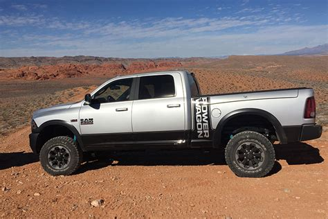 the 2017 ram 2500 power wagon 4x4 tackles work and play