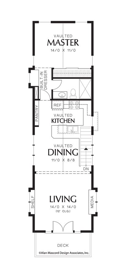narrow lot house plans with basement coastal house plan 21107 the skycole 1203 sqft 2 bedrooms 2 bathrooms