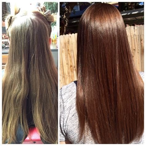 hair glaze color treatment pics pictures hair glossing before and after women black