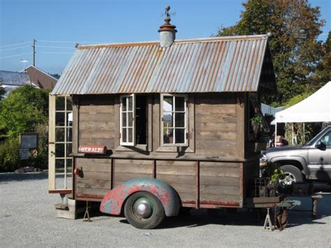the latest tiny house on wheels from jamaica cottage shop rustic tiny house on wheels