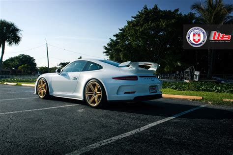 gold porsche gt3 gorgeous porsche 991 911 gt3 on gold hre wheels gtspirit