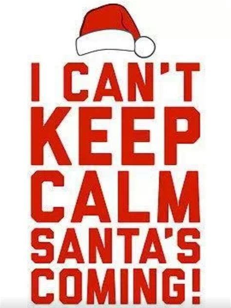 keep calm it s coming merry everyone