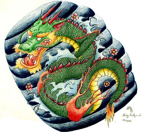 traditional dragon tattoo designs traditional japanese www imgkid the image