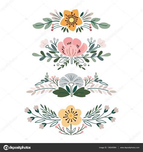 imagenes vectoriales vintage vector con ramos de flores vintage archivo im 225 genes